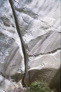 Géologie sur le sentier Bleu N°6
